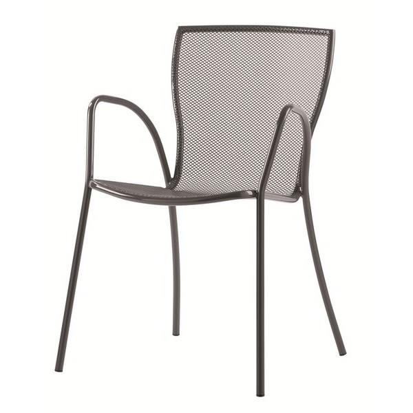 Sedie in rete di metallo monella preloader with sedie in ferro for Sedie in ferro battuto ikea