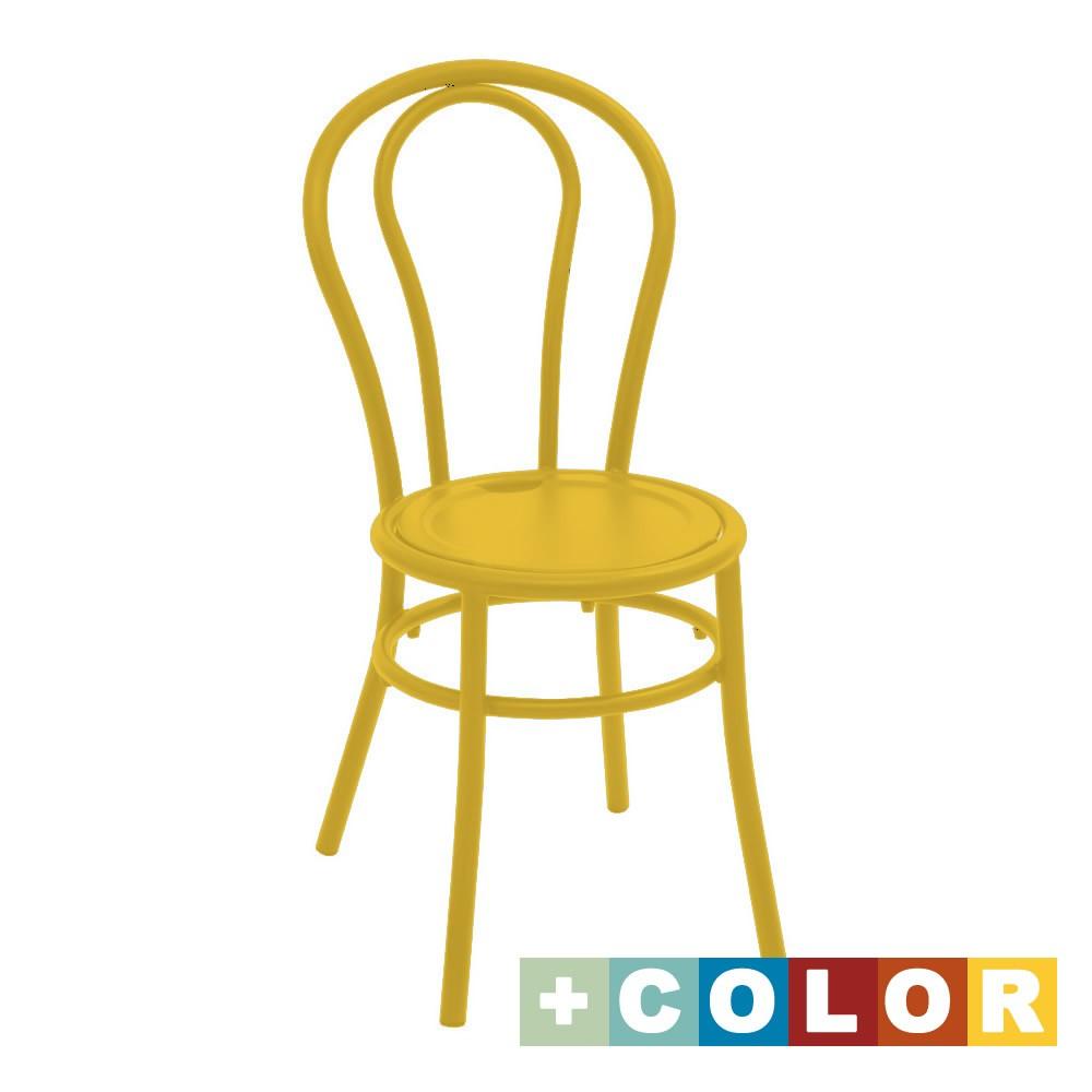 Sedie in ferro colorate per giardino bistr vendita online for Sedie giardino ferro