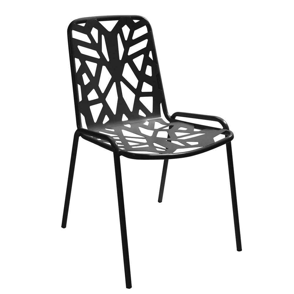 Sedie Giardino Ferro Battuto.Sedia In Metallo Zincato Per Giardino Fancy Leaf 1 Vendita Online