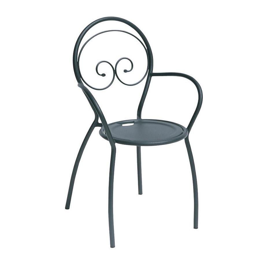 Sedie in ferro per esterni fiona vendita online - Tavoli in ferro battuto per esterni ...