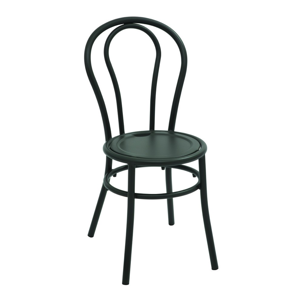 Sedia in metallo da giardino design classico