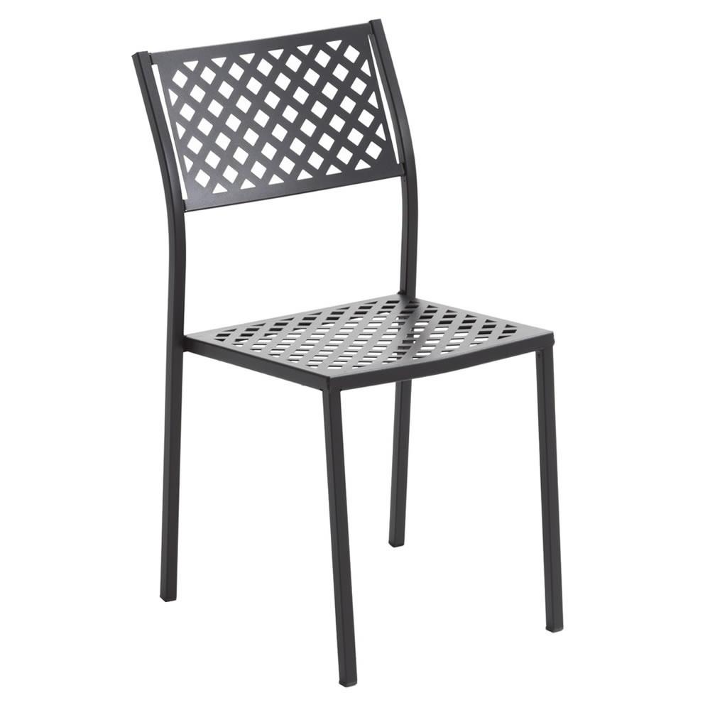 Sedia in ferro per giardino lola 1 vendita online for Tavolini da esterno in ferro