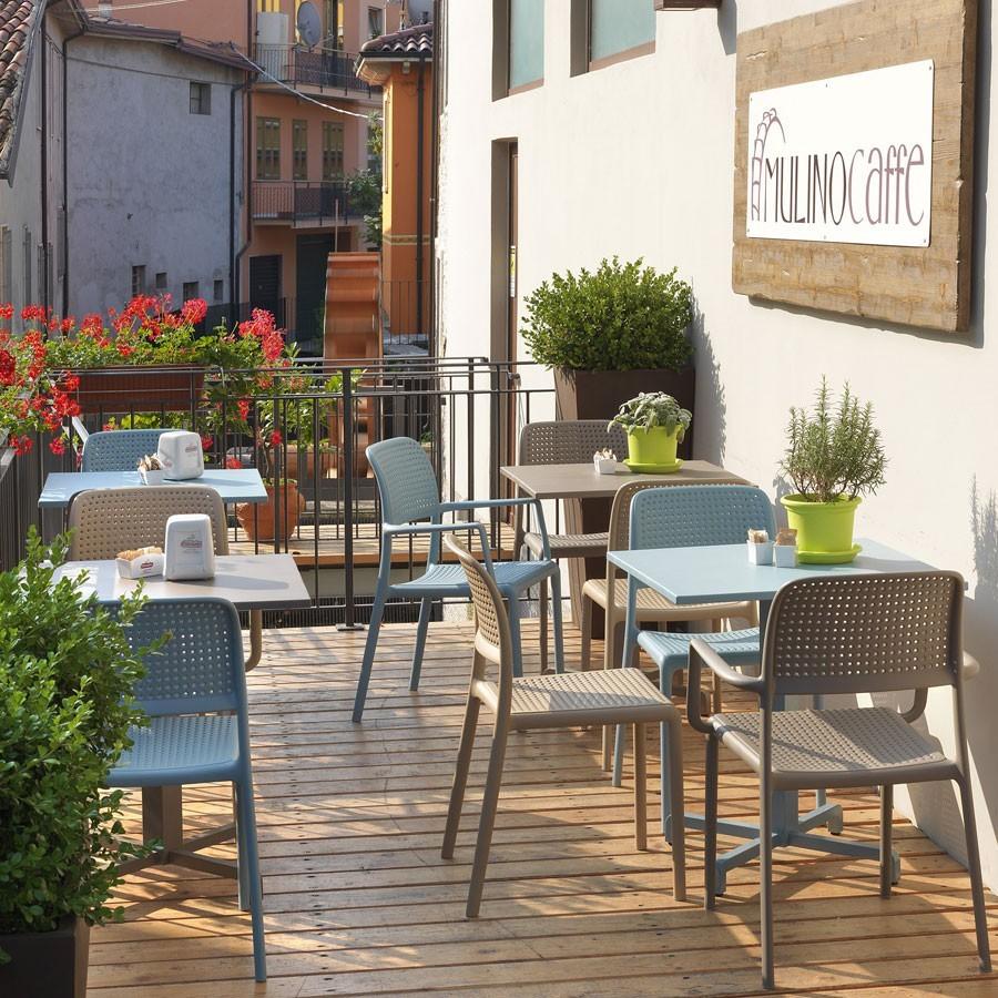 Sedia da giardino ed esterno bora bistrot nardi for Nardi arredo giardino