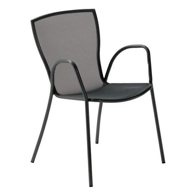 Sedie in rete di ferro per esterni vendita online for Sedie design metallo