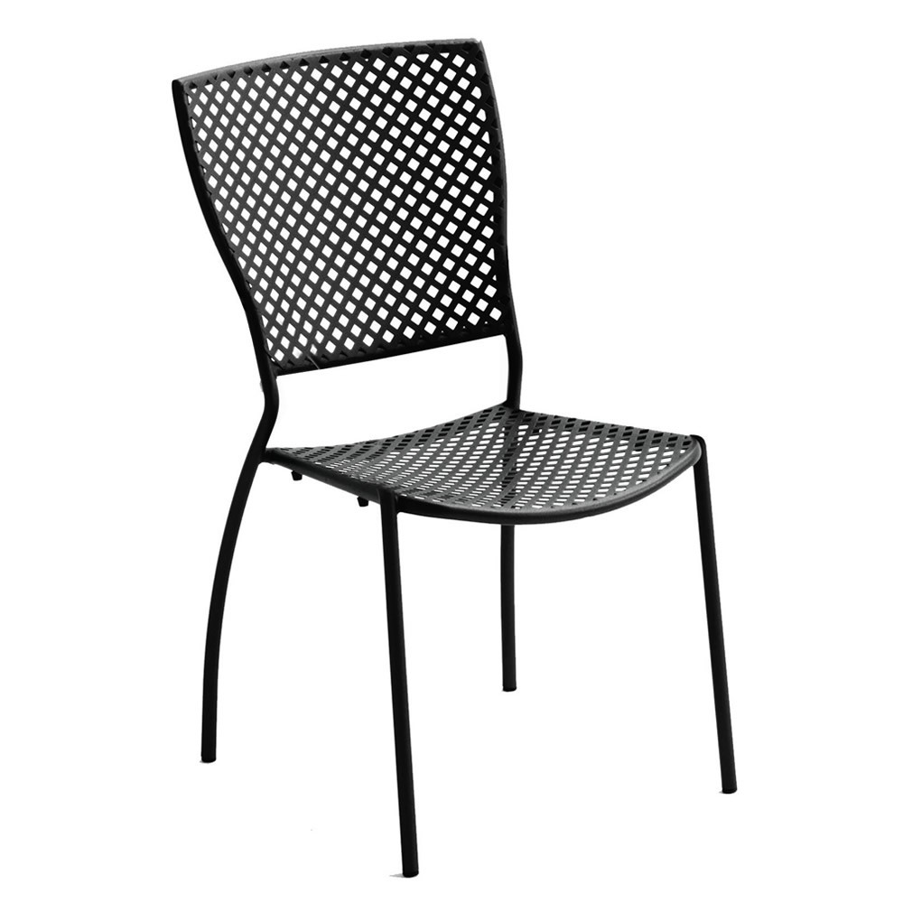 sedie in ferro battuto per giardino queen 1 vendita