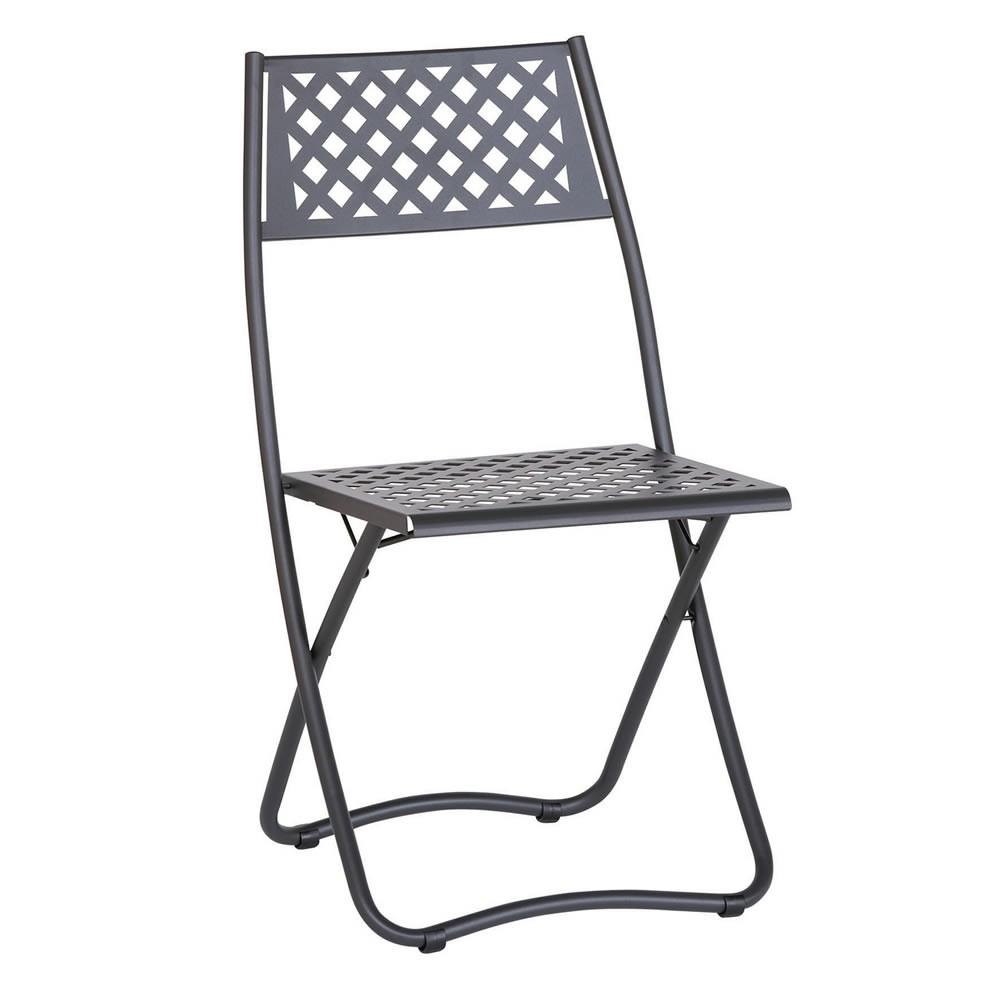 Sedie pieghevoli in ferro da giardino vendita online for Sedie da giardino economiche