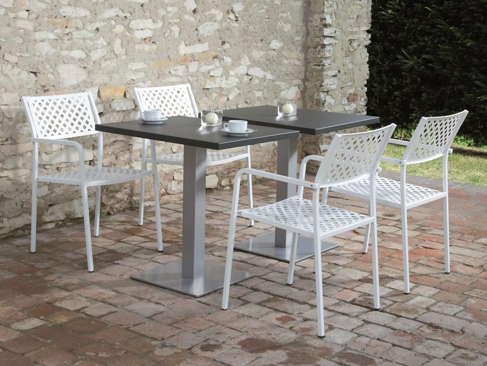 Sedia in ferro per esterni lola 2 vendita online for Sedie bianche