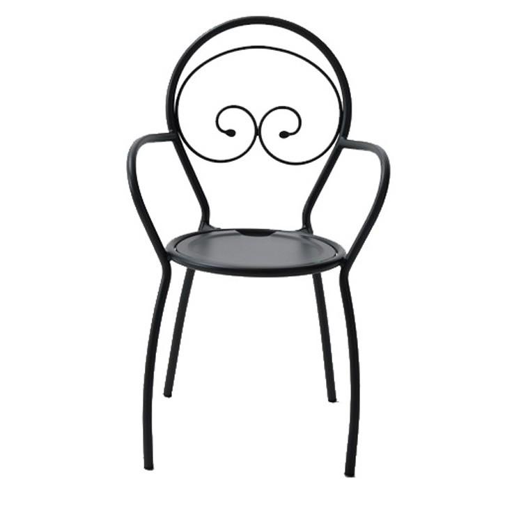 Sedie in ferro per esterni fiona vendita online for Sedie in acciaio