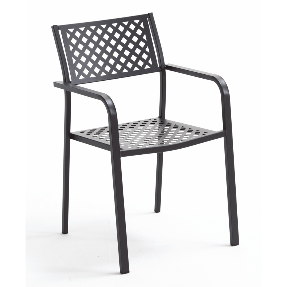 Sedia in ferro per esterni Lola 2 - Vendita Online Bestprato.com