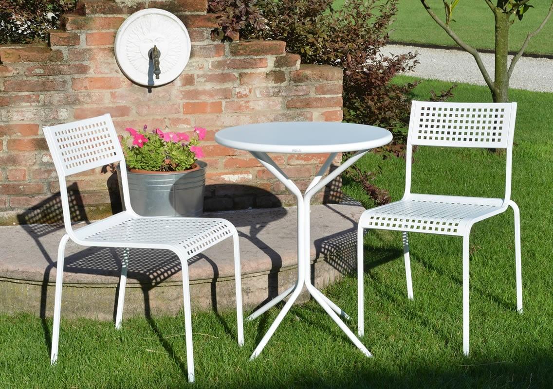 Sedie in ferro battuto monella vendita online for Sedie giardino ferro