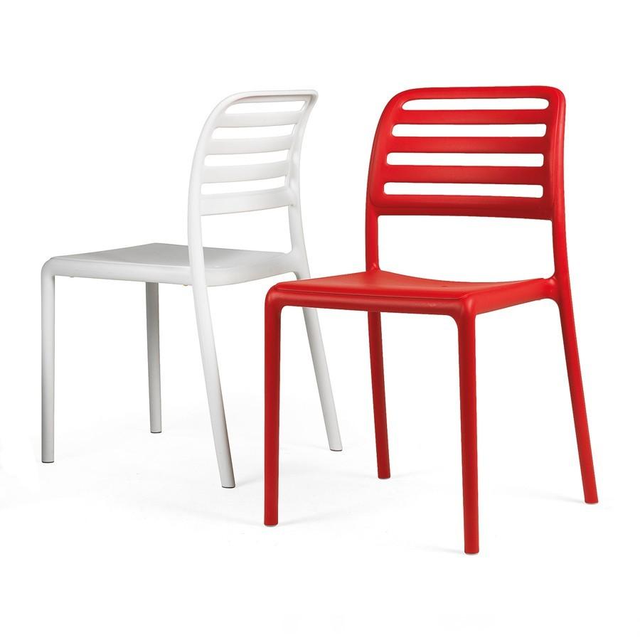 Sedie Per Esterno In Plastica.Sedia Per Terrazzo Costa Bistrot Nardi