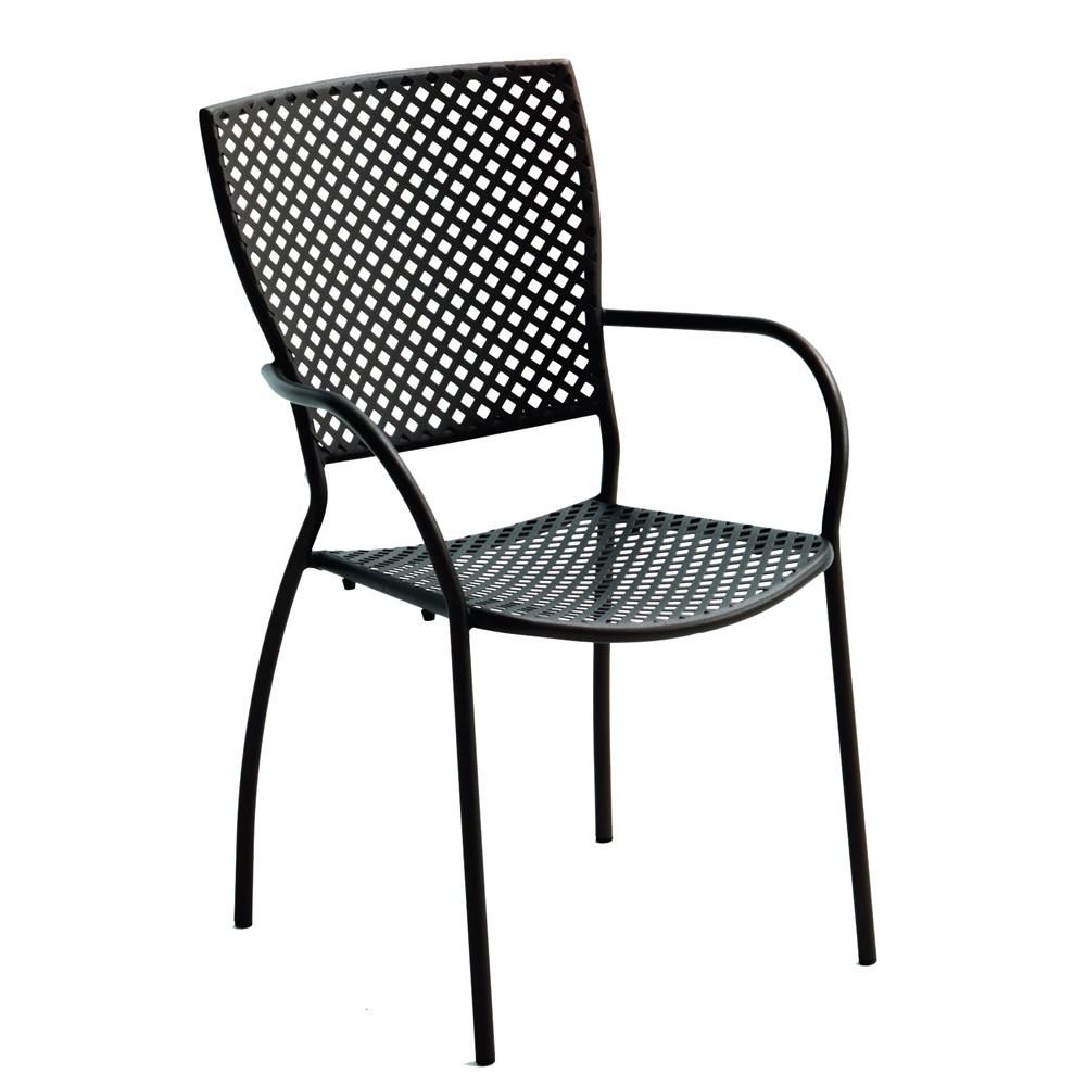 Sedie in ferro battuto per giardino vendita online for Tavolini da esterno in ferro