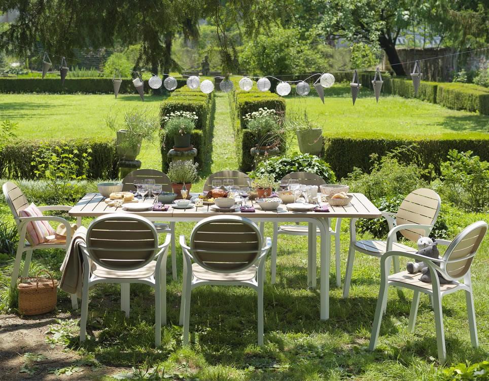 Tavolo da giardino allungabile alloro 140 nardi