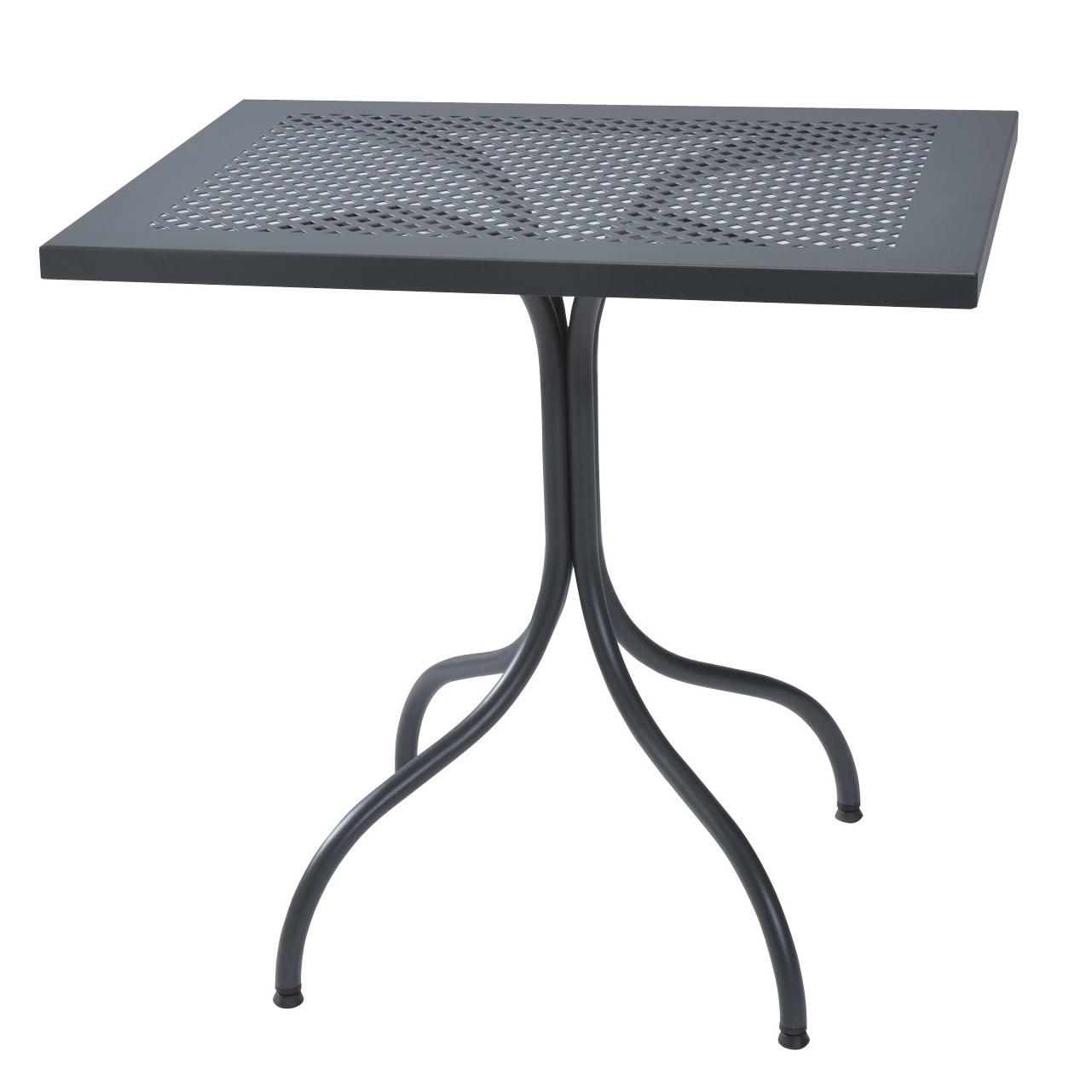 Tavolo Ferro Battuto Esterno.Tavolino Rettangolare In Ferro Per Giardino Vendita Online