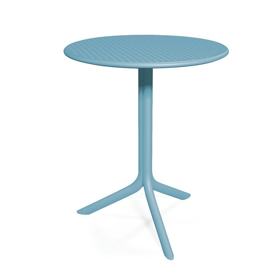Tavolino rotondo da esterno giardino e terrazzo step nardi - Tavolino da giardino ikea ...