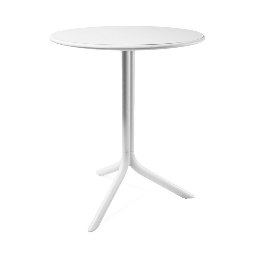 Tavolino rotondo da terrazzo giardino ed esterno spritz for Tavolo e sedie per terrazzo