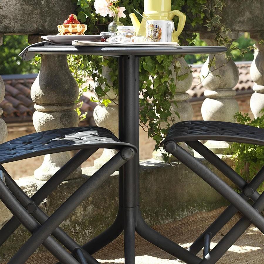 Tavolino rotondo da terrazzo, giardino ed esterno Spritz - Nardi