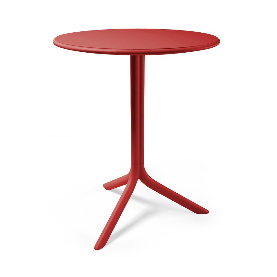 Tavolino rotondo da terrazzo giardino ed esterno spritz for Tavolo rotondo esterno