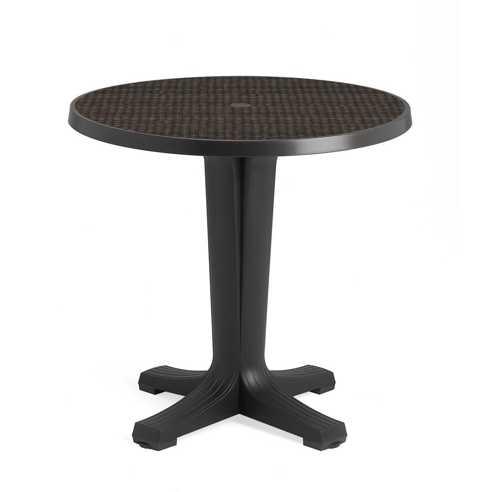 Tavolino rotondo per esterno marte 78 nardi - Tavoli in resina da esterno ...