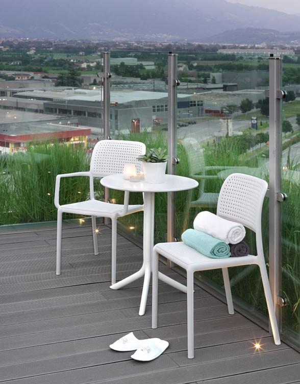 Tavolino rotondo da esterno giardino e terrazzo step nardi - Costo ascensore esterno 1 piano ...