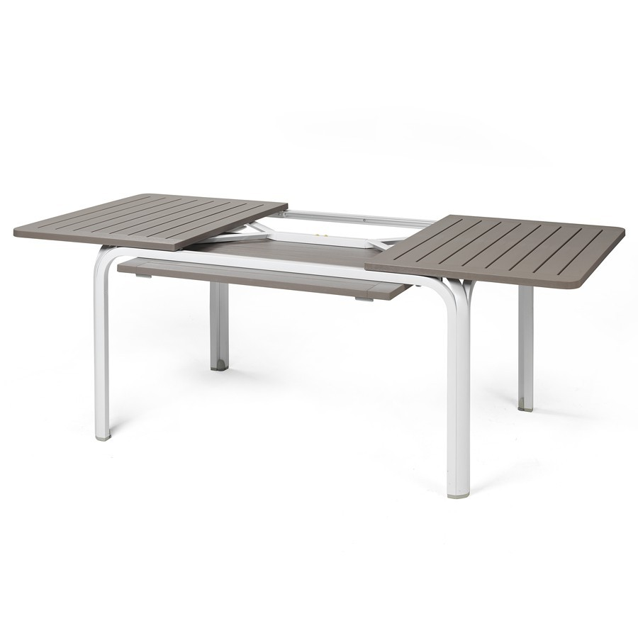 Tavolo da giardino allungabile alloro 140 nardi - Tavolo di plastica da giardino ...