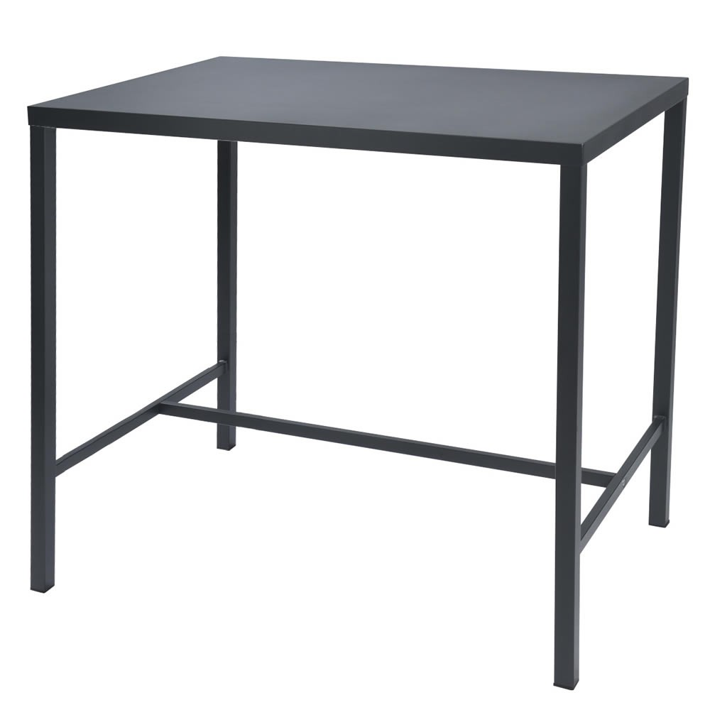 Tavolo alto in ferro per esterni e giardino vendita online - Tavolo ferro giardino ...