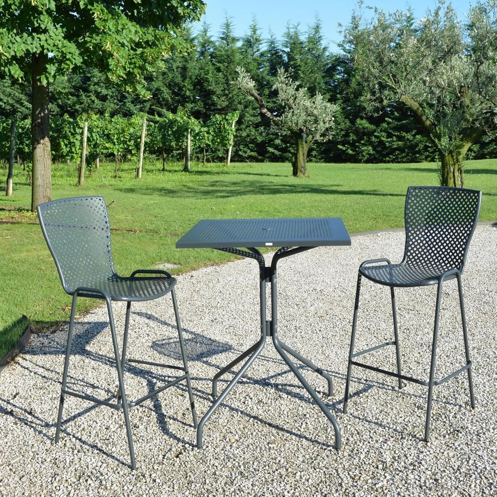 Tavoli alti in ferro per esterni e giardino vendita online - Costo ascensore esterno 1 piano ...