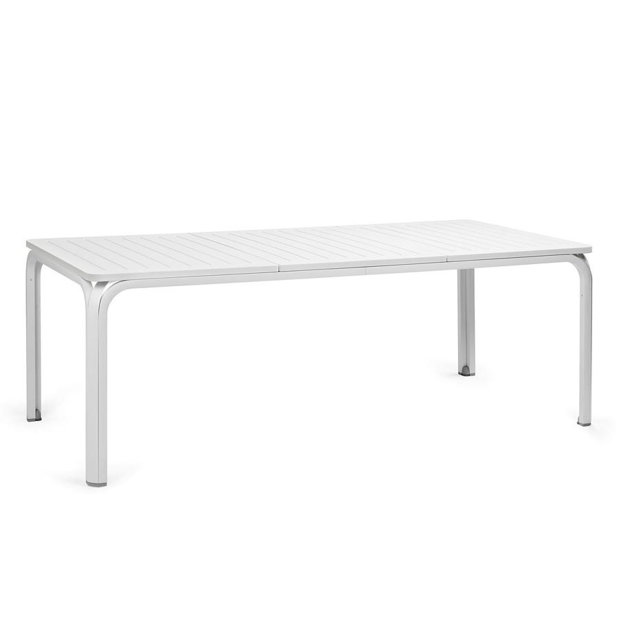 Tavolo da giardino allungabile alloro 210 280 nardi - Tavolo di plastica da giardino ...