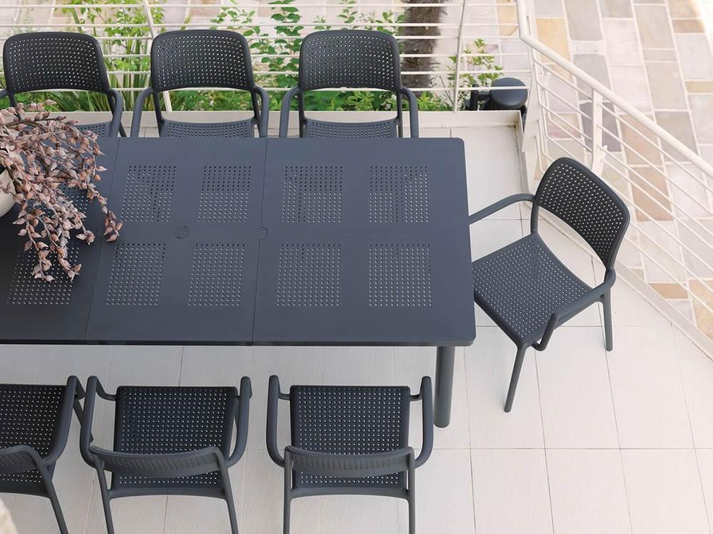 Tavolo da giardino libeccio nardi for Giardino rettangolare
