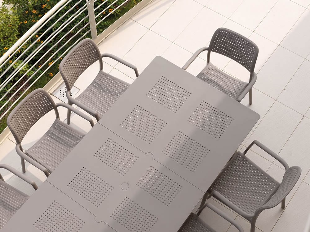 Tavoli Di Plastica Da Giardino Allungabili.Tavoli In Resina Allungabili Stunning Tavoli Da Pranzo Allungabili