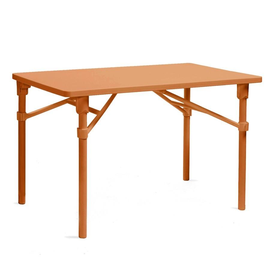 Tavolo pieghevole da giardino e terrazzo zic nardi - Tavoli allungabili per esterno ...