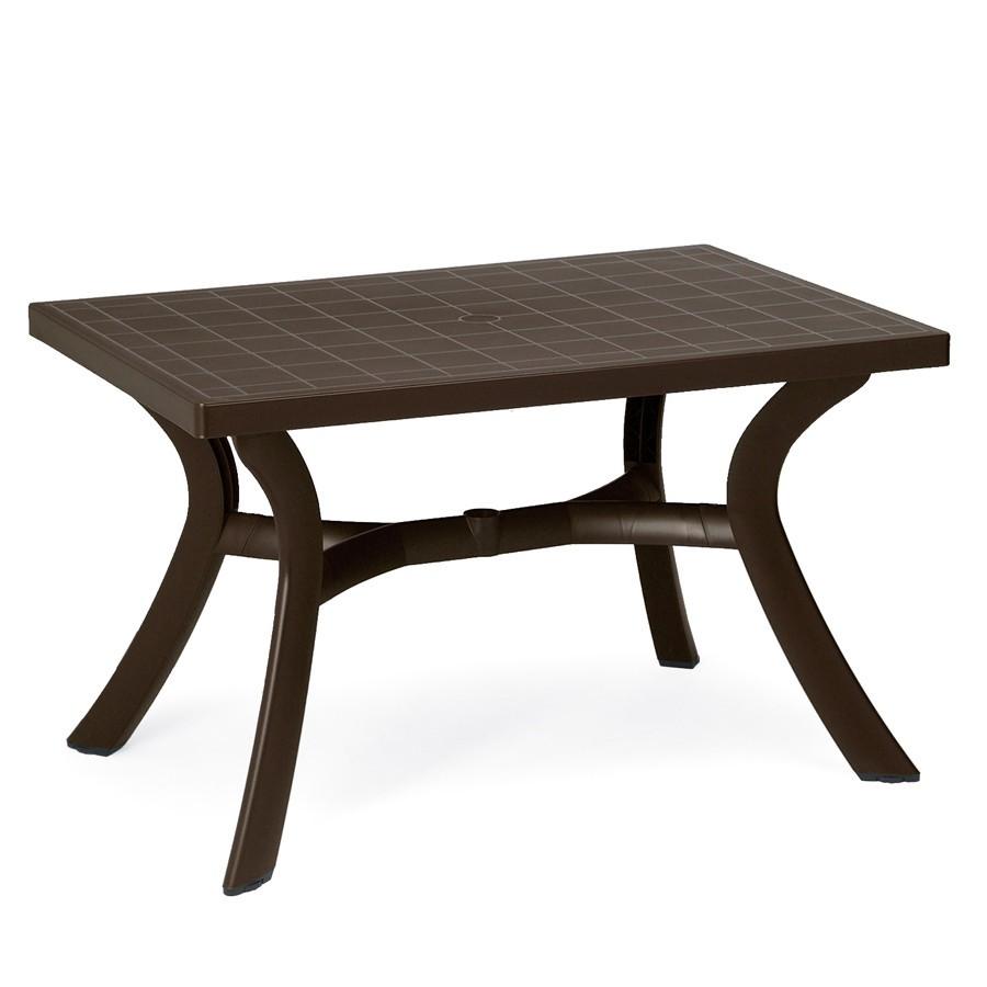 Tavolo rettangolare da giardino 120 cm nardi - Tavolo pieghevole da giardino ...