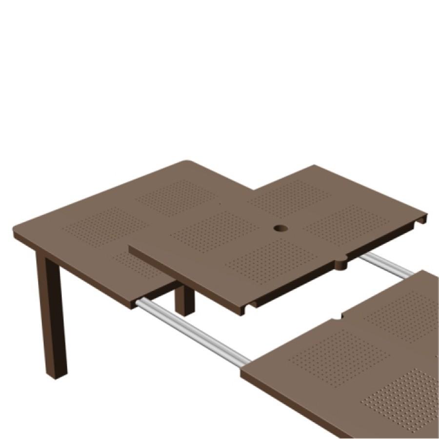 Tavolo Di Plastica Da Esterno.Set Tavolo Da Giardino Levante 8 Sedie Bora Nardi