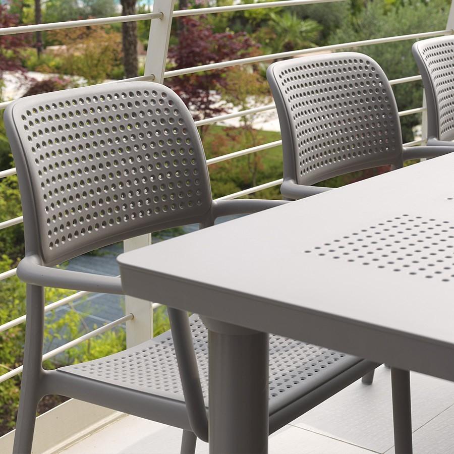 Tavolo da giardino libeccio nardi for Offerte tavoli e sedie da esterno