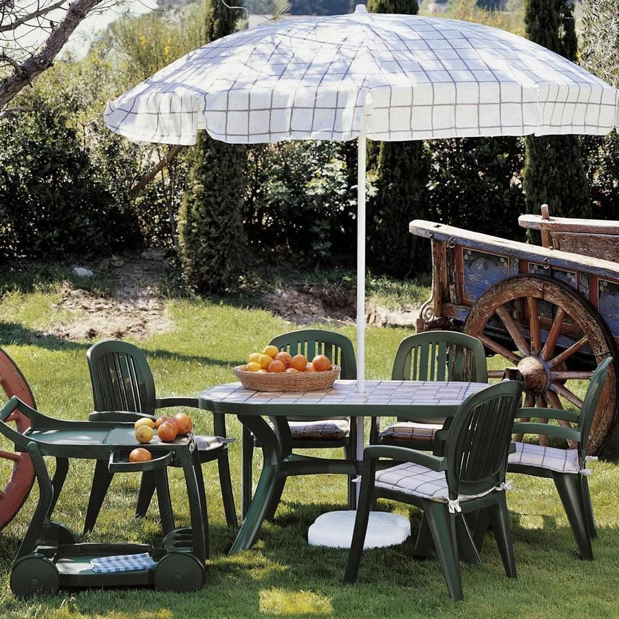 Tavolo ovale da giardino nardi for Arredo giardino toscana