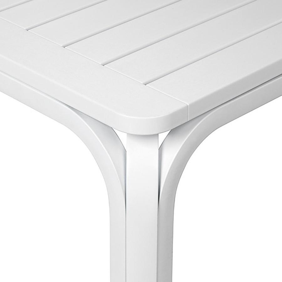 Tavolo Da Giardino Legno Bianco.Tavolo Da Giardino Allungabile Alloro 210 280 Nardi