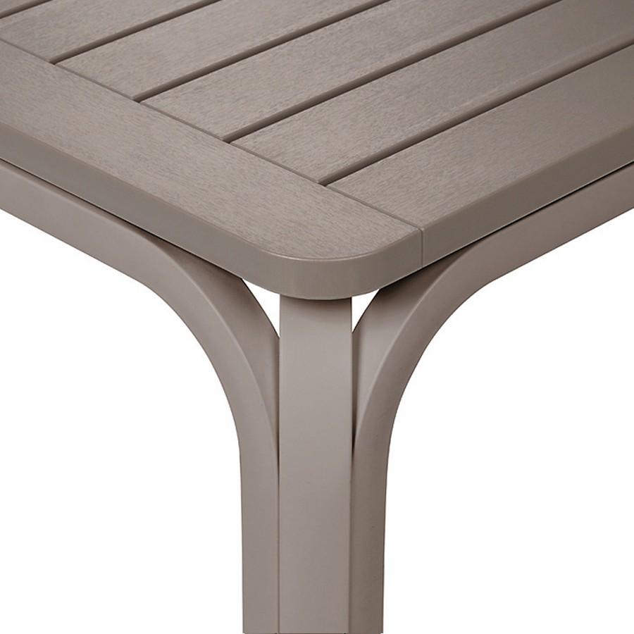 Tavolo da giardino allungabile alloro 140 nardi - Fermatovaglia per tavoli di plastica ...