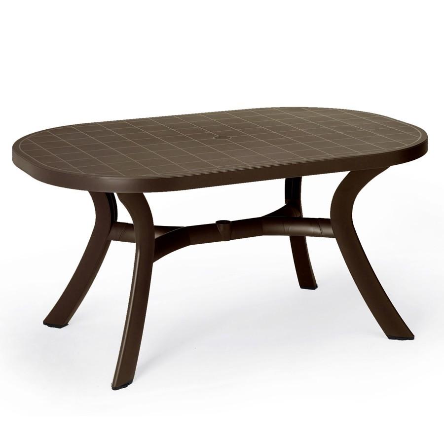 Piani Tavoli Per Esterno.Tavolo Ovale Da Giardino Nardi