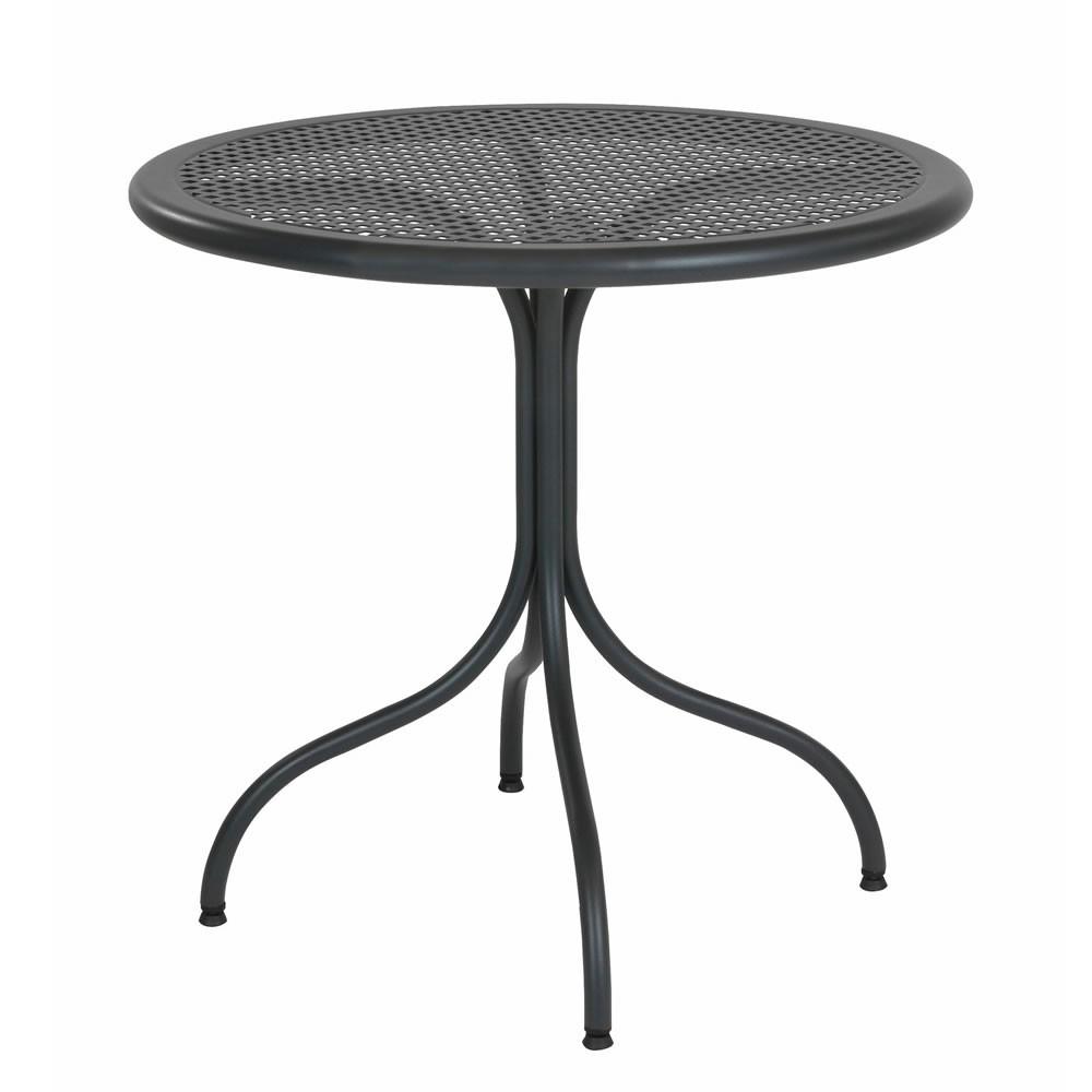 Tavoli in metallo per esterni bistrot 80 r vendita for Tavolo giardino metallo