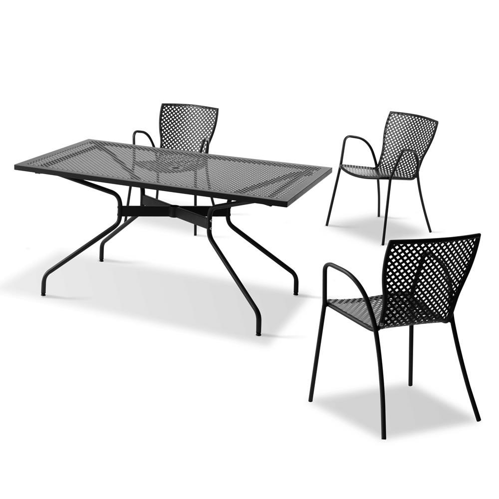 Tavoli In Metallo Da Esterno.Tavolo Vintage In Ferro Per Giardino Estate 160 Vendita Online