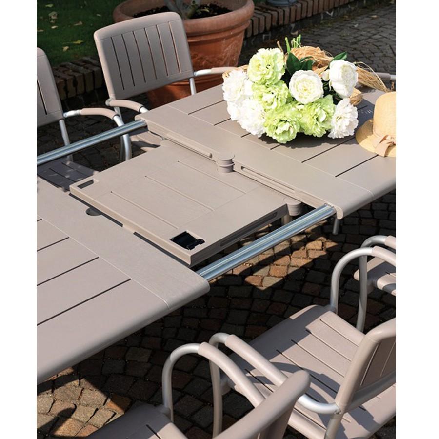 Tavolo da esterno maestrale nardi for Arredo da giardino in alluminio