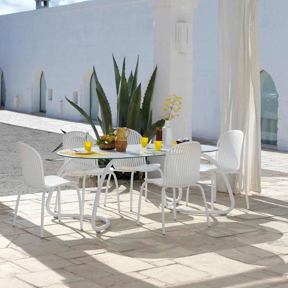 Tavolo Moderno Ovale In Vetro Da Soggiorno Pictures to pin on Pinterest