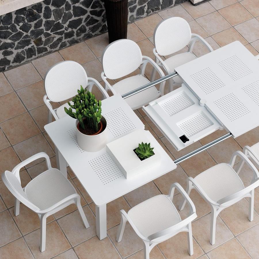 Tavolo da giardino allungabile levante nardi for Tavolo da terrazzo allungabile