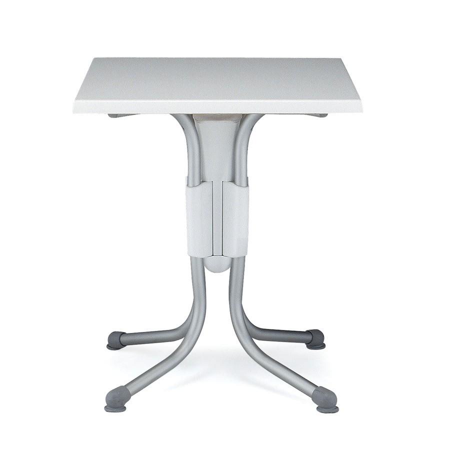 Tavolo Quadrato Da Esterno.Tavolino Quadrato Da Esterno In Alluminio Polo Nardi