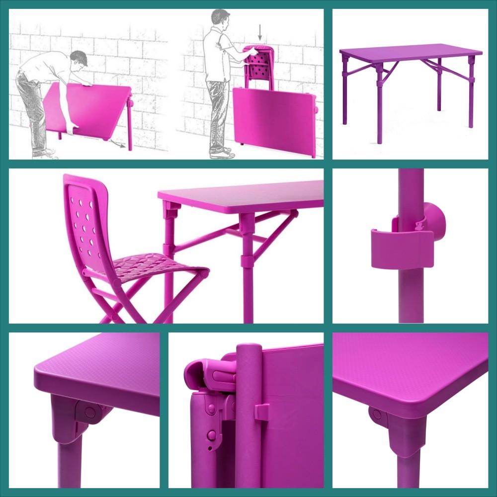 Tavolo pieghevole da giardino e terrazzo zic nardi - Tavolo di plastica da giardino ...