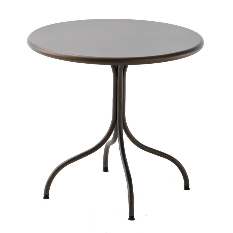Favoloso Tavolo rotondo in ferro per giardino Bistrot 80 - Vendita Online  KP98