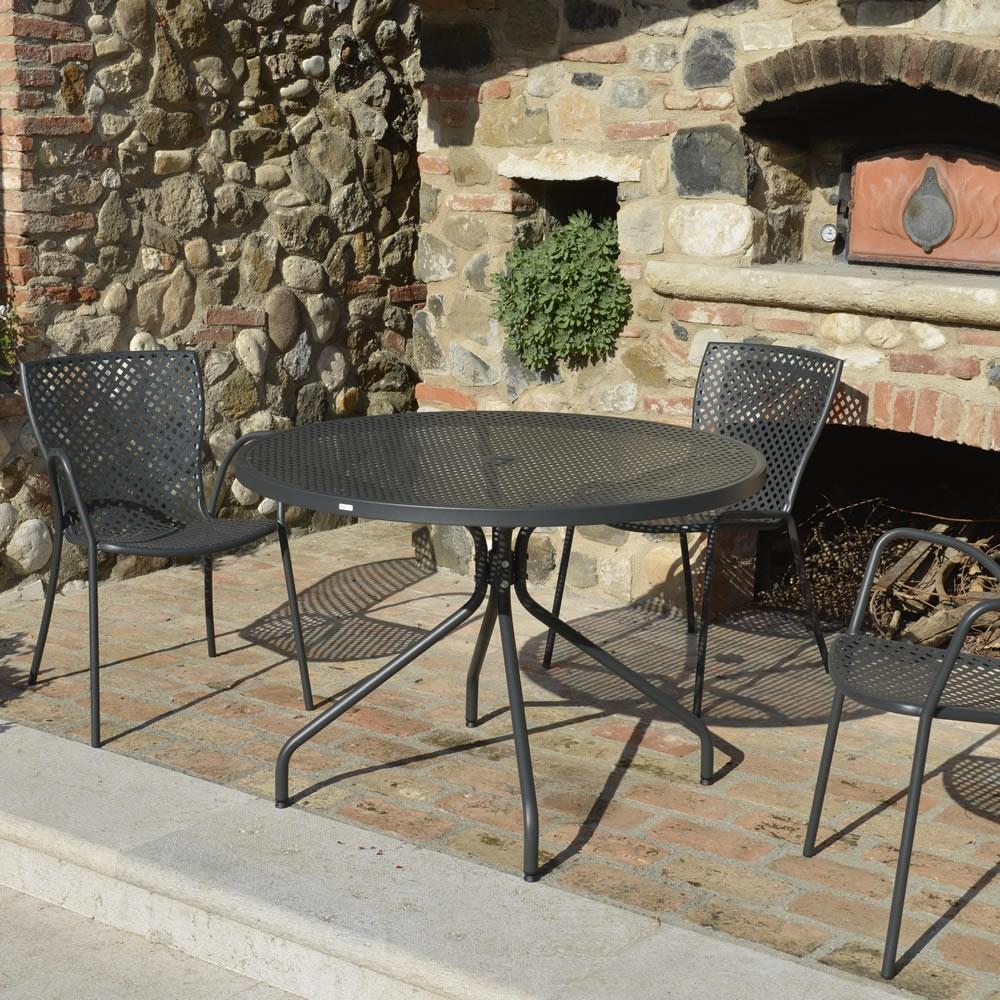 Vendo Tavolo Da Giardino.Set Tavolo E Sedie In Ferro Per Giardino Vendita Online