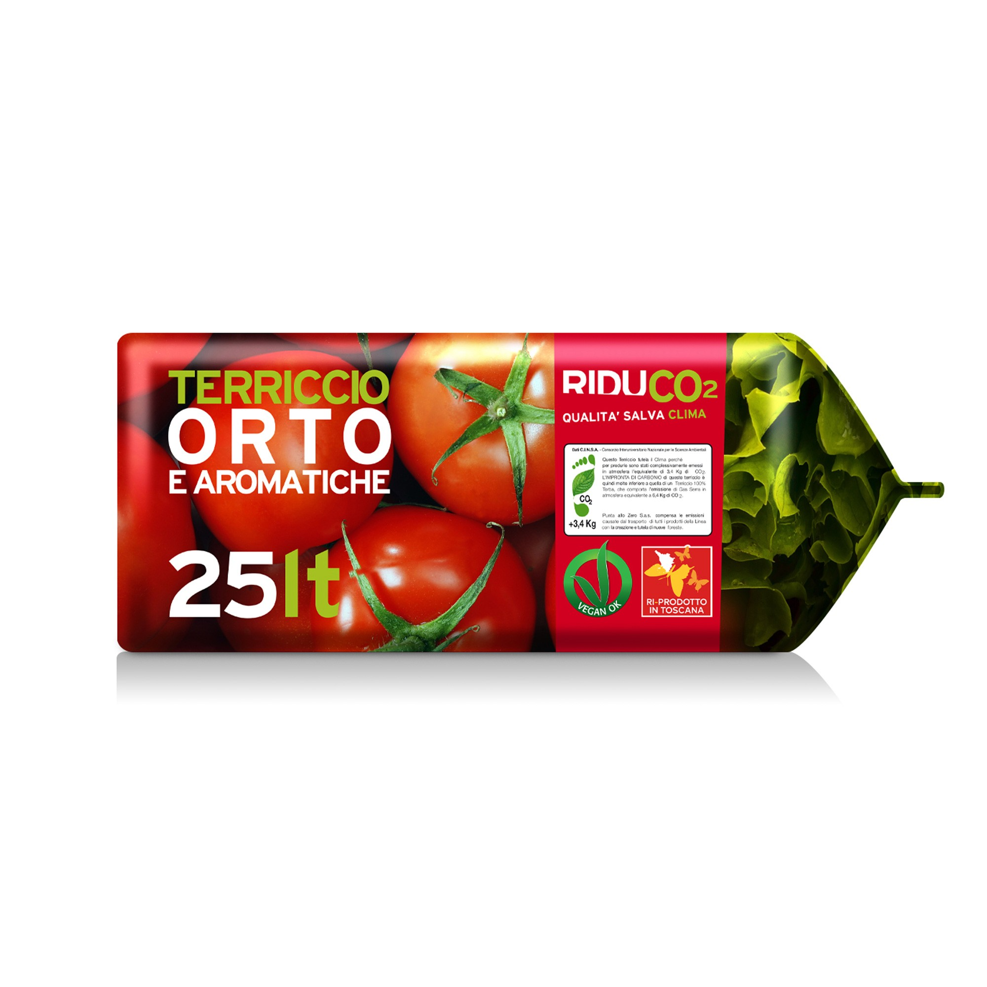 Sostegni Per Pomodori In Vaso terriccio per orto biologico riduco - 5x25l