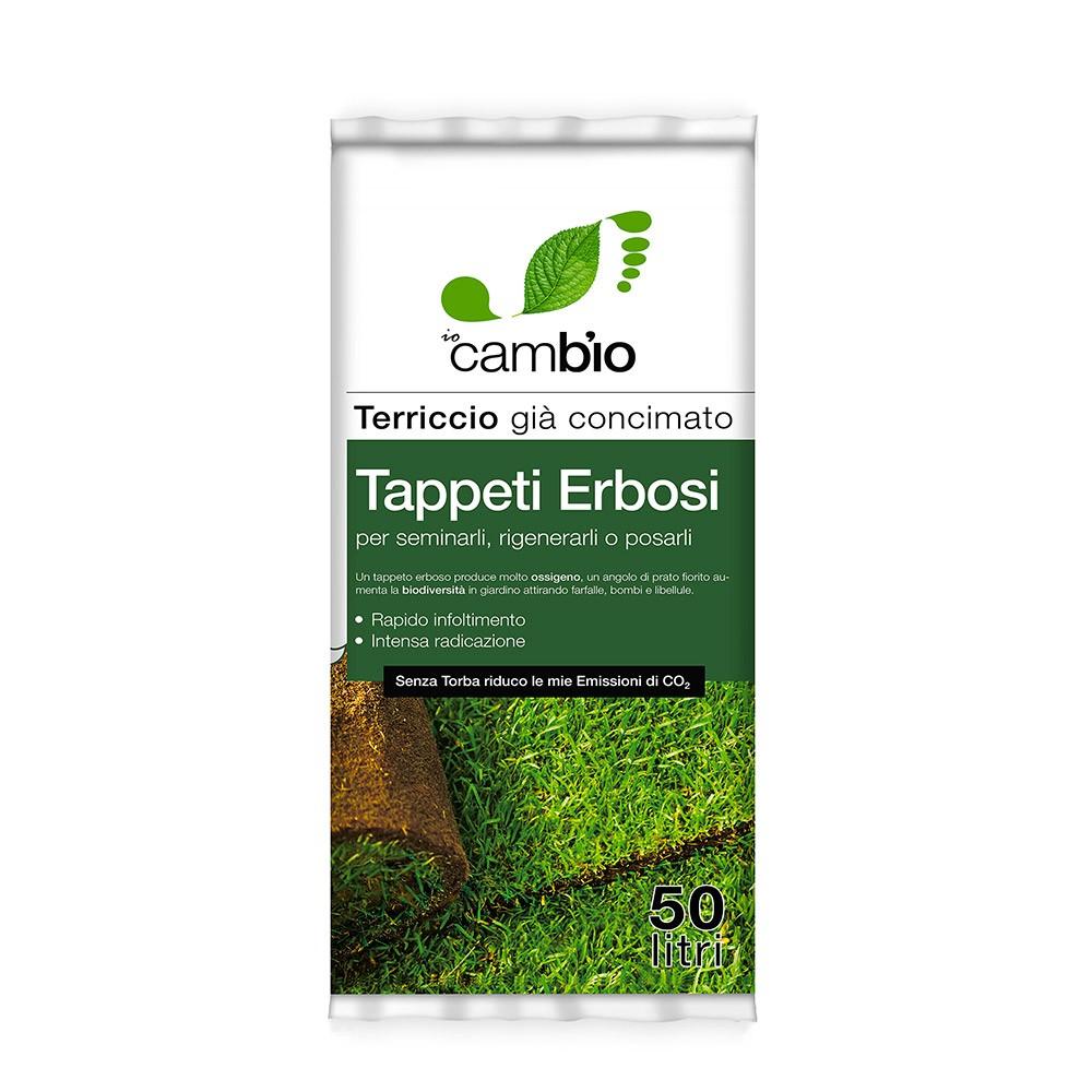 terriccio per prato semina e risemina tappeto erboso