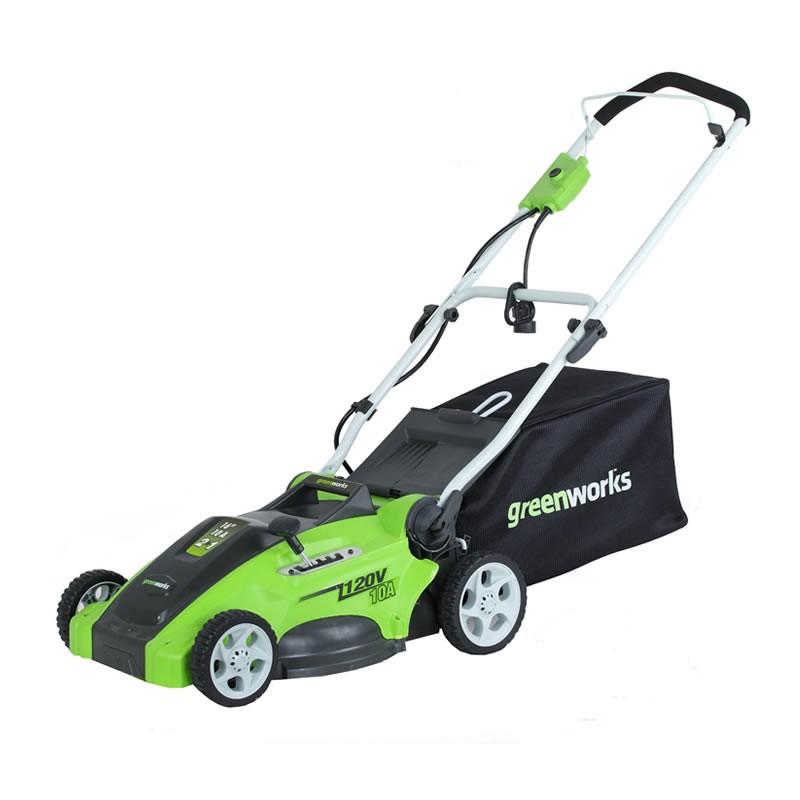 Tagliaerba Elettrico Con Mulching Greenworks 1200w